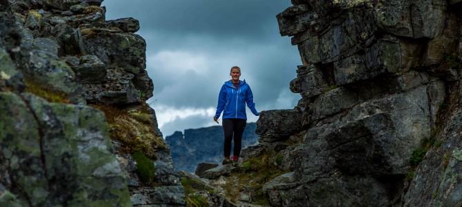 På toppen av Innerdalstårnet